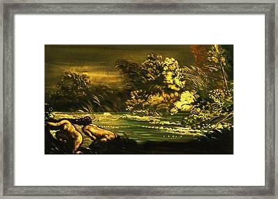 The Flood Framed Print