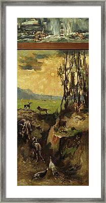 The Flood, Willem De Zwart Framed Print by Litz Collection