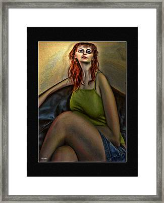 The Floozie Framed Print by Tyler Robbins