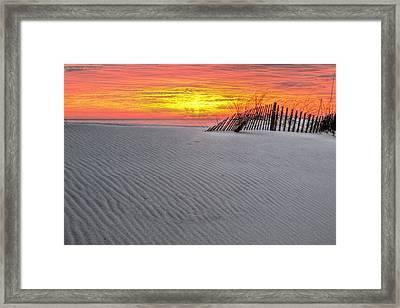 The Florida Alabama Line Framed Print by JC Findley