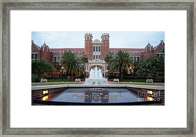 The Florida State University Framed Print