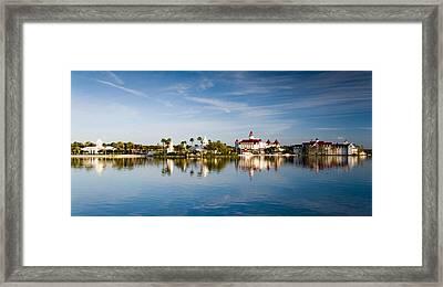 The Floridian Resort  Framed Print