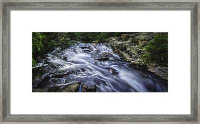 The Flow Framed Print by Barb Hauxwell