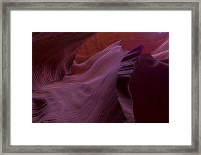 The Flow Framed Print by Jonathan Davison
