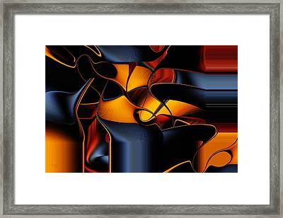 The Maitre D Framed Print