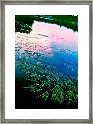 The Flow Framed Print by Steve Harrington