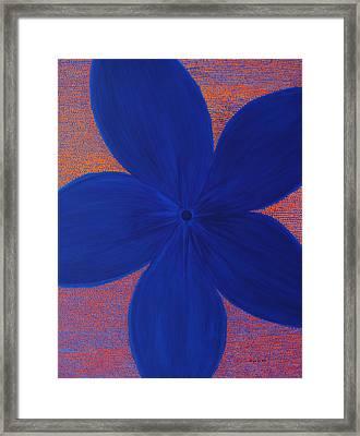 The Flower Framed Print