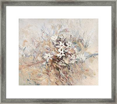 The Flower Of High Mountains Framed Print