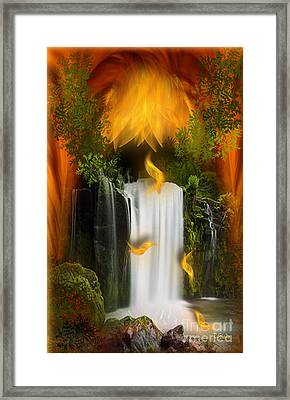 The Flower Of Joy - Fantasy Art By Giada Rossi Framed Print