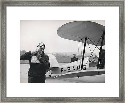 The Flying Ambassador Framed Print by Retro Images Archive