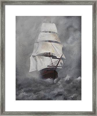 The Flying Dutchman Framed Print