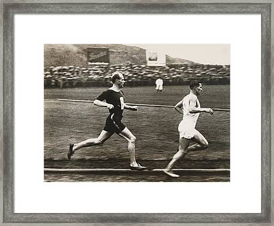 The Flying Finn Framed Print