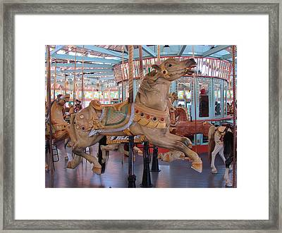 The Flying Horses Framed Print