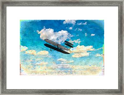 The Flying Machine Framed Print by Bill Cannon