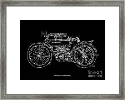The Flying Merkel Model V 1911 Framed Print by Pablo Franchi