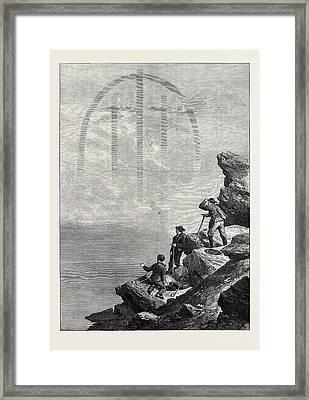 The Fog-bow Seen From The Matterhorn 1871 Framed Print