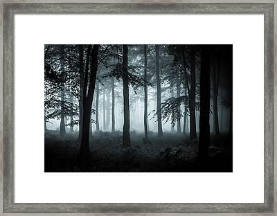 The Fog Framed Print by Ian Hufton