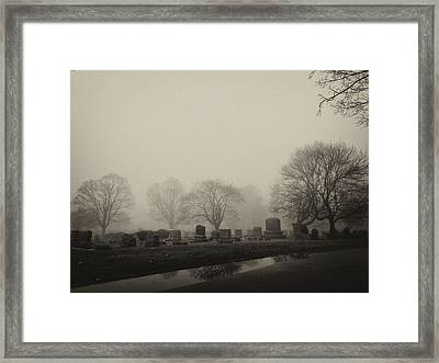 The Fog Framed Print by Jim Poulos