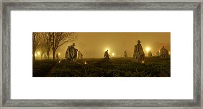 The Fog Of War #1 Framed Print by Metro DC Photography