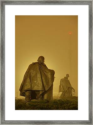 The Fog Of War #2 Framed Print by Metro DC Photography