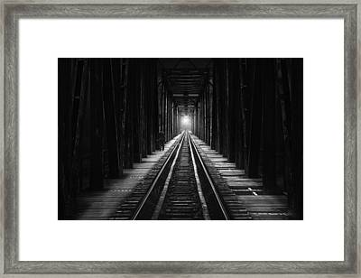 The Follower Framed Print