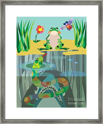 The Food Chain Framed Print