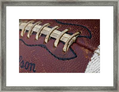 The Football Framed Print by David Patterson