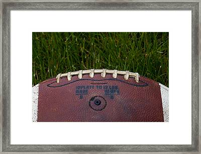 The Football II Framed Print by David Patterson