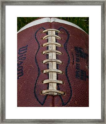 The Football IIi Framed Print by David Patterson