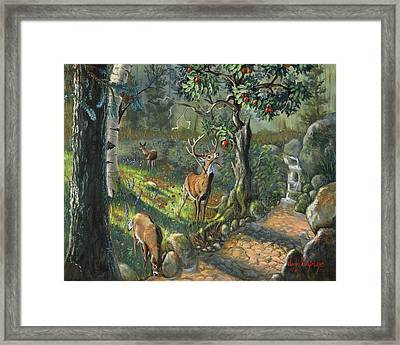 The Forbidden Fruit Framed Print by Jeff Brimley