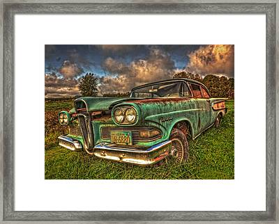 The Ford Edsel Ranger Framed Print by Thom Zehrfeld