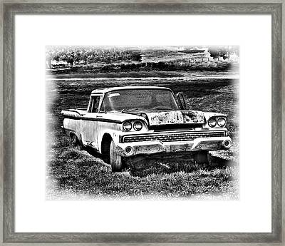 The Ford Ranchero Framed Print