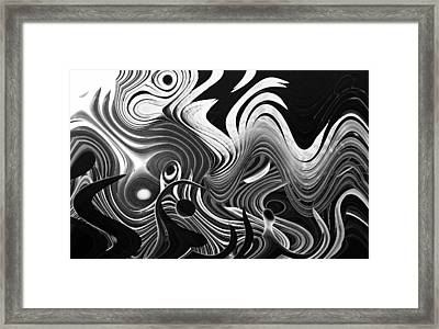 The Forest Fire Framed Print by John Bartosik