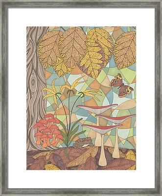 The Forest Floor Framed Print