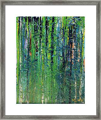 The Forest  Framed Print by Lola Connelly
