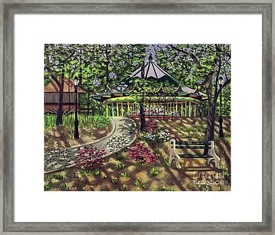 The Forest Park Carousel Framed Print
