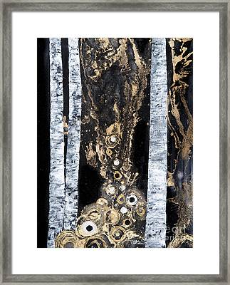 The Forest Framed Print by Tara Thelen