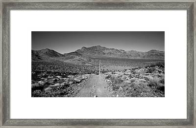 The Forever Road Framed Print by Peter Tellone