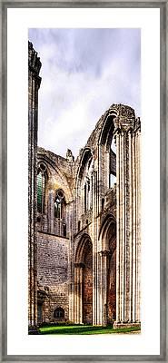 The Forgotten Abbey 4 Framed Print