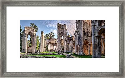The Forgotten Abbey 5 Framed Print