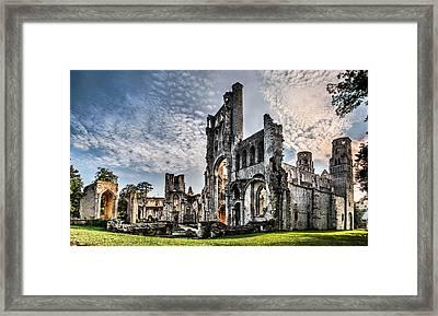 The Forgotten Abbey Framed Print