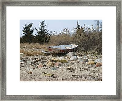 The Forgotten Dingy Framed Print