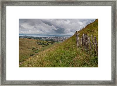 Framed Print featuring the photograph The Forgotten Fence by Sergey Simanovsky