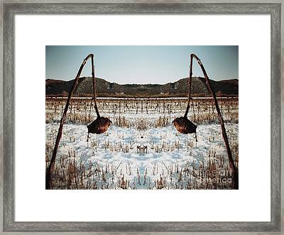 The Forgotten Of Van Gogh - 9 Framed Print by Flow Fitzgerald