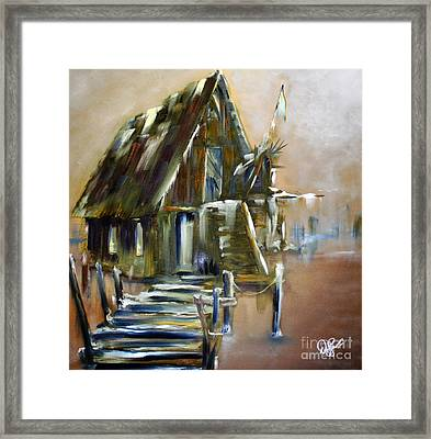 The Forgotten Shack Framed Print by David Kacey