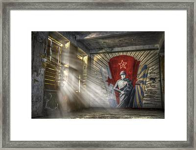 The Forgotten Soldier Framed Print