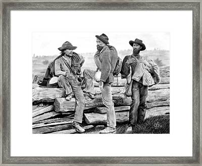 The Forgotten Soldiers Framed Print