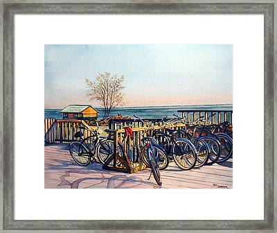 The Forgotten Sweater Framed Print by Terri  Meyer