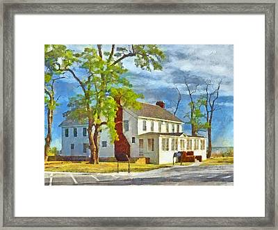 The Former Sleeping Bear Inn / Glen Haven Michigan Framed Print