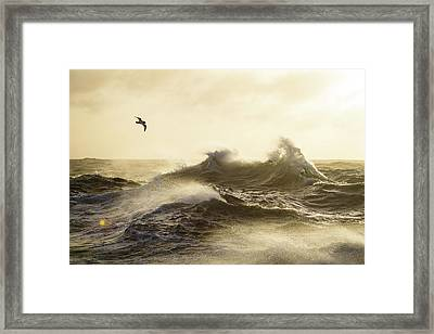 The Formidable Drake Passage Framed Print